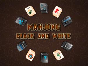 Онлайн игра Маджонг: Черный и Белый (Mahjong Black and White) (изображение №1)