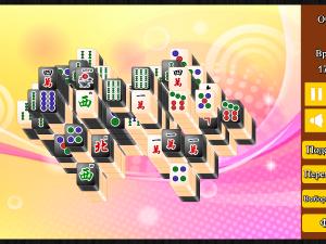 Онлайн игра Маджонг: Черный и Белый (Mahjong Black and White) (изображение №4)