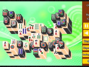 Онлайн игра Маджонг: Черный и Белый (Mahjong Black and White) (изображение №5)