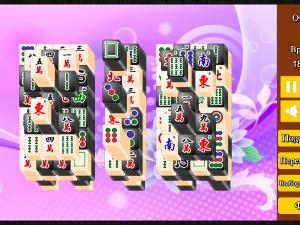 Онлайн игра Маджонг: Черный и Белый (Mahjong Black and White) (изображение №6)