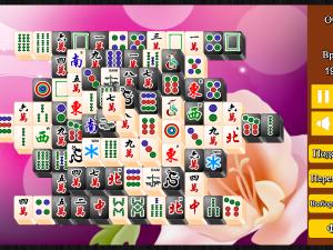 Онлайн игра Маджонг: Черный и Белый (Mahjong Black and White) (изображение №3)