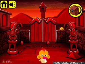 Онлайн игра Счастливая Обезьянка 17 (Monkey GO Happy 17) (изображение №4)