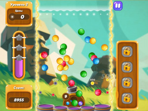 Онлайн игра Бабл Шутер Сага 2 (Bubble Shooter Saga 2) (изображение №4)