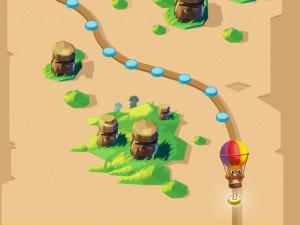 Онлайн игра Бабл Шутер Сага 2 (Bubble Shooter Saga 2) (изображение №3)