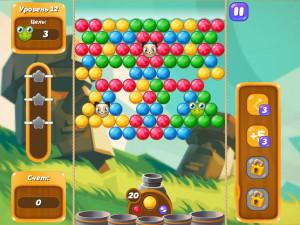Онлайн игра Бабл Шутер Сага 2 (Bubble Shooter Saga 2) (изображение №2)