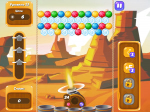 Онлайн игра Бабл Шутер Сага 2 (Bubble Shooter Saga 2) (изображение №5)