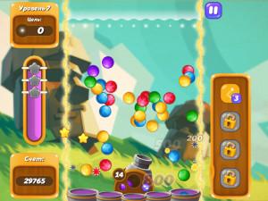Онлайн игра Бабл Шутер Сага 2 (Bubble Shooter Saga 2) (изображение №6)