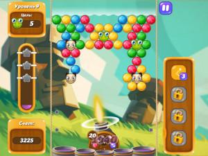 Онлайн игра Бабл Шутер Сага 2 (Bubble Shooter Saga 2) (изображение №7)