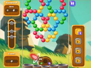 Онлайн игра Бабл Шутер Сага 2 (Bubble Shooter Saga 2) (изображение №8)