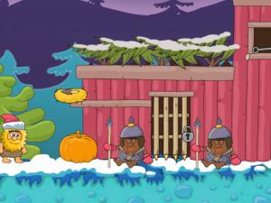 Онлайн игра Адам и Ева: Новогодняя Елка (Adam and Eve: Snow Christmas Edition) (изображение №6)