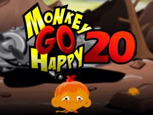 Онлайн игра Счастливая Обезьянка 20 (Monkey GO Happy 20) (изображение №1)