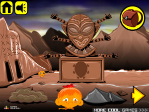 Онлайн игра Счастливая Обезьянка 20 (Monkey GO Happy 20) (изображение №5)