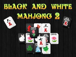 Маджонг Черное и Белое 2