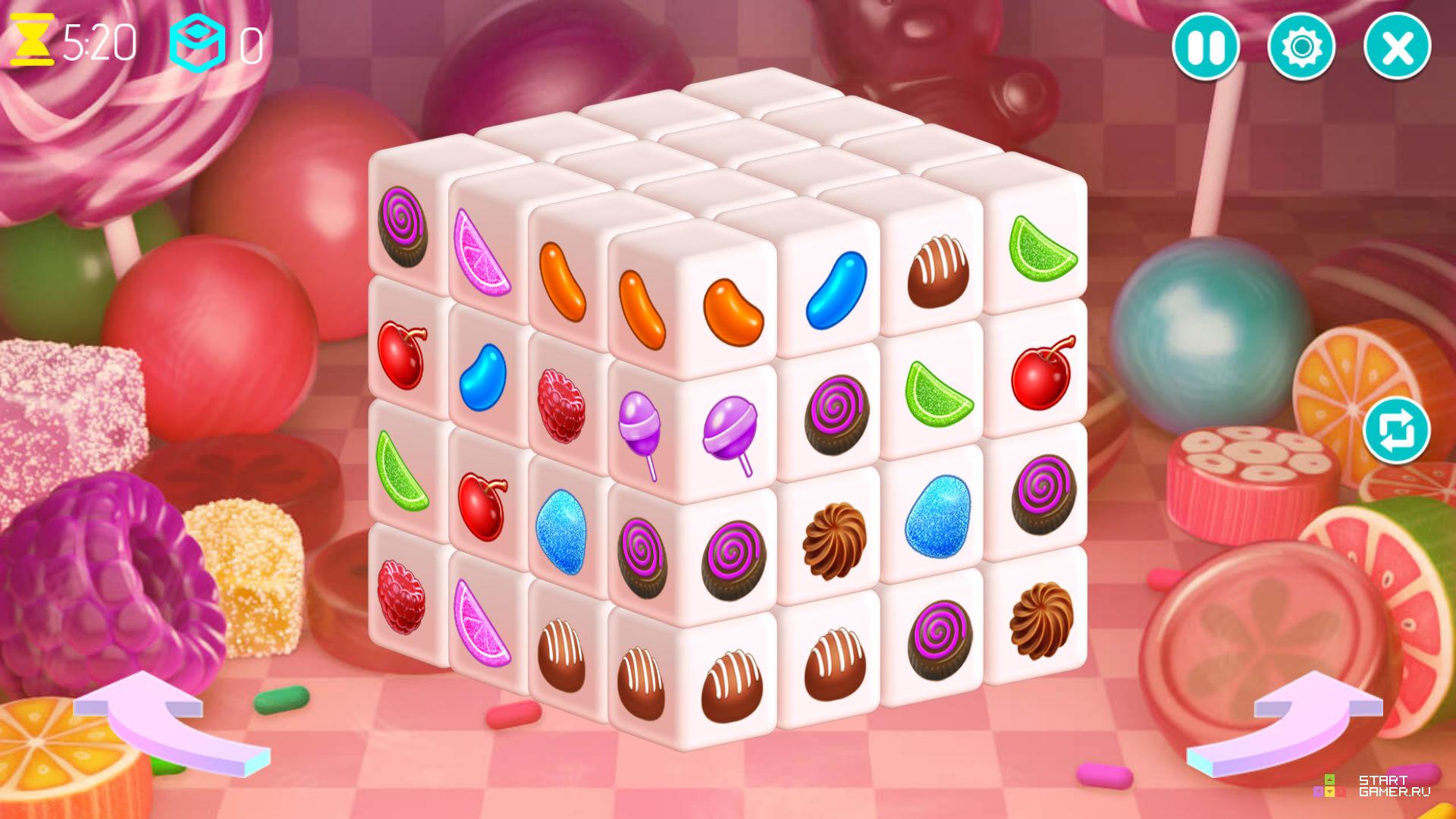 Mahjong Dimension Candy