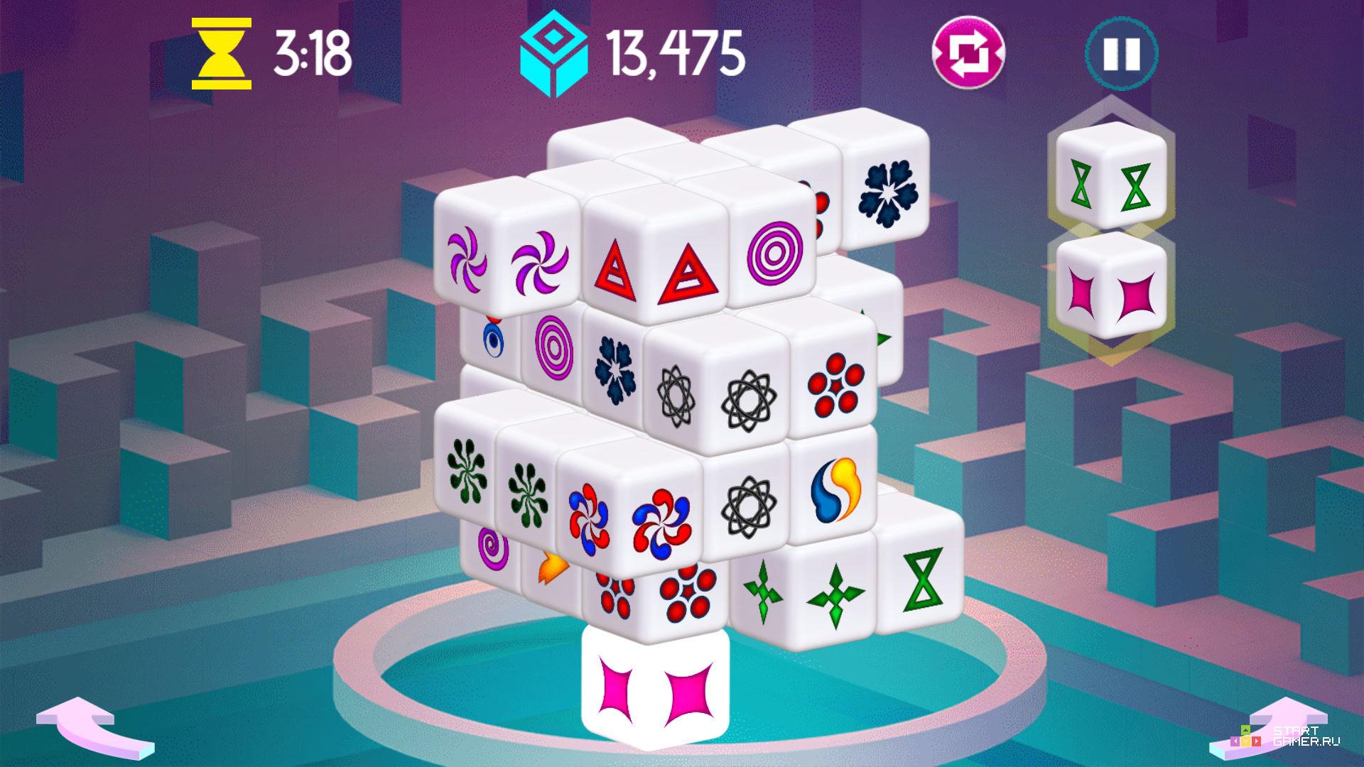 3д маджонг играть онлайн