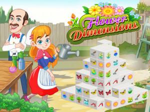 Маджонг 3D: Цветы