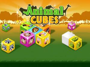 Маджонг 3D: Кубики с Животными