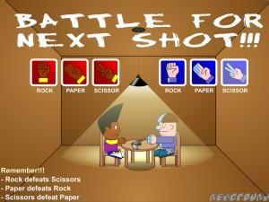 Онлайн игра Пико против Юберов камень, ножницы, бумага  (Pico vs Uberkids) (изображение №2)
