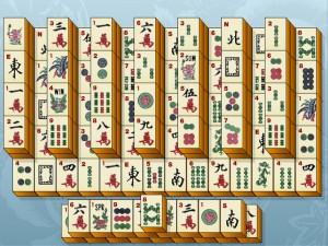 Онлайн игра Маджонг (Mahjongg) (изображение №2)