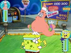 Онлайн игра Губка Боб Бикини Боттом Битва (Sponge Bob Bikini Bottom Bust Up) (изображение №4)