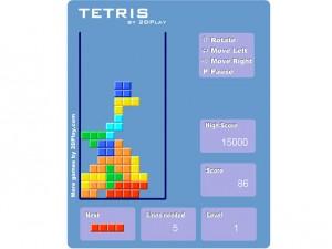 Онлайн Ретро игра Tetris 2D (изображение №2)