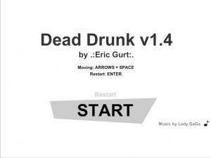 Онлайн игра Мертвецки Пьяный (Dead Drunk) (изображение №1)