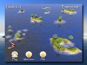 Онлайн игра Пасьянсы Багамы (Bahama Tripeaks) (изображение №6)
