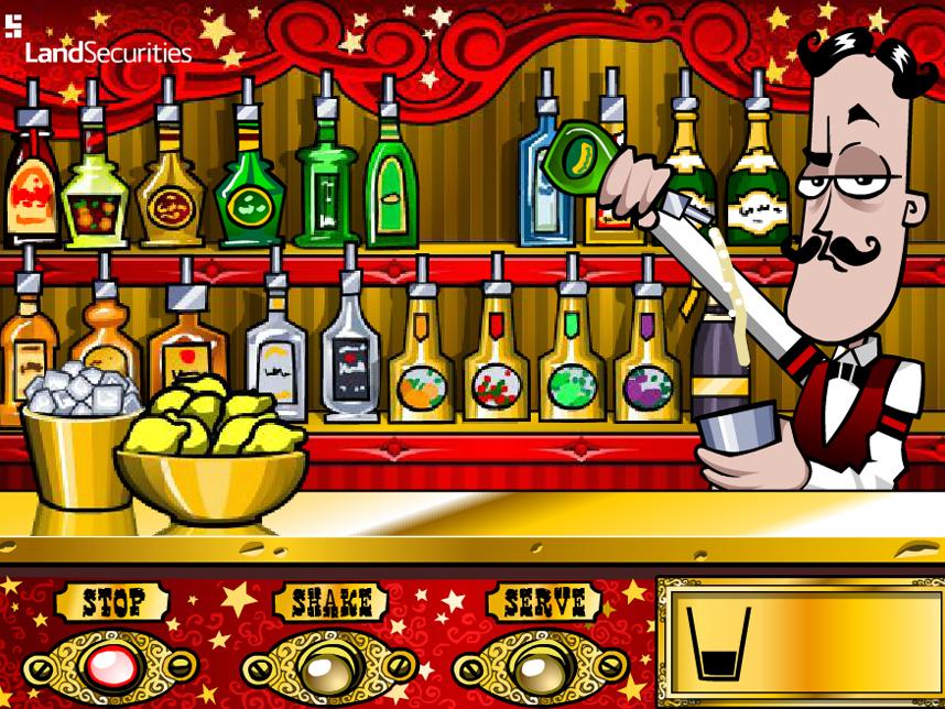 бармен играть онлайн