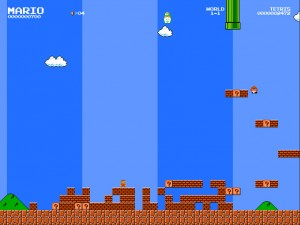 Онлайн игра Тупер Марио (Tuper Tario Tros) (изображение №4)