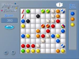Онлайн игра Шарики (Mind Your Marbles Deluxe) (изображение №3)
