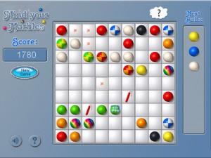 Онлайн игра Шарики (Mind Your Marbles Deluxe) (изображение №4)
