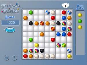 Онлайн игра Шарики (Mind Your Marbles Deluxe) (изображение №5)