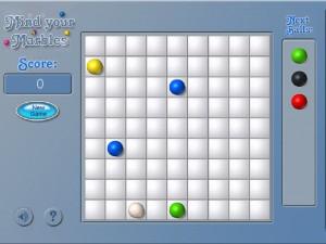 Онлайн игра Шарики (Mind Your Marbles Deluxe) (изображение №2)