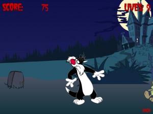 Онлайн игра Кот против зомби (Cat vs Zombie) (изображение №3)