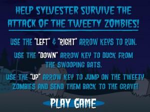 Онлайн игра Кот против зомби (Cat vs Zombie) (изображение №2)