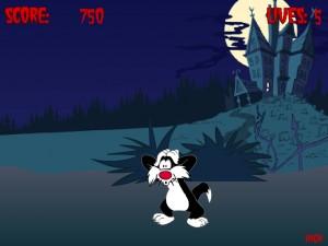 Онлайн игра Кот против зомби (Cat vs Zombie) (изображение №4)