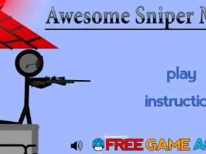 Потрясающий снайпер