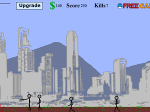 Онлайн игра Потрясающий снайпер (Awesome Sniper Man) (изображение №3)