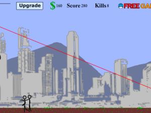 Онлайн игра Потрясающий снайпер (Awesome Sniper Man) (изображение №4)