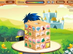 Онлайн игра Mahjong Knight Quest (Маджонг Рыцарский Квест) (изображение №3)