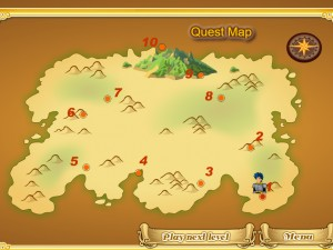 Онлайн игра Mahjong Knight Quest (Маджонг Рыцарский Квест) (изображение №4)