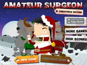 Онлайн игра Хирург с арматурой: Рождественское издание (Amateur Surgeon: Christmas Edition) (изображение №1)
